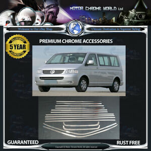 FITS-TO-VOLKSWAGEN-T5-CHROME-WINDOW-TRIM-COVERS-5y-GUARANTEE-2003-2015-OFFER-NEW