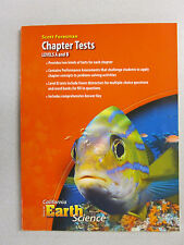 Focus on Earth Science California edition Chapter Tests book A & B 0328258652