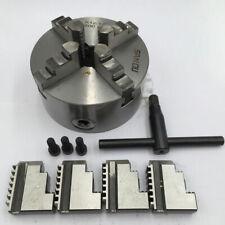 80mm Lathe Chuck 4jaw 3 Self Centering 4 Jaw 3inch Chuck Hardened Steel Cnc Set