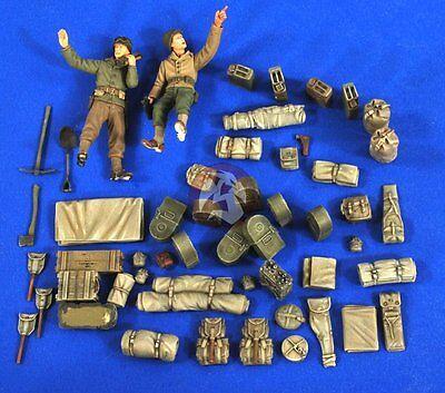 Verlinden 1//35 M16 MGMC Half-track Stowage Crew /& Ammo 2695 2 Figures Dragon