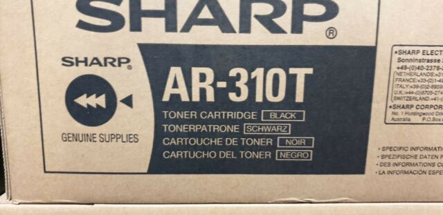 sharp laser printer toner AR -310T genuine original NEW black ink ar310t Sale