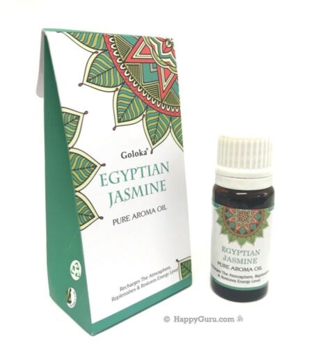 """Egyptian Jasmine"" Goloka Oil for Diffuser Fragrance Oil 10ml Bottle"