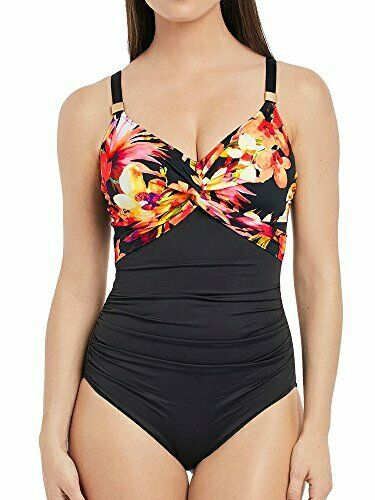 Fantasie Paradise Bay 6481 Light Control Underwired Twist Front Swimsuit