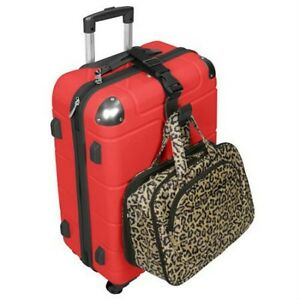 67b36b882ea3 Details about Travelon Add A Bag Strap Travel Luggage Suitcase Adjustable  Belt Bag Holder