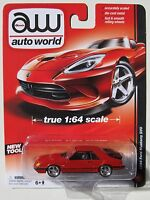Auto World 1984 Ford Mustang Svo 3 Red True 1:64 Tool B