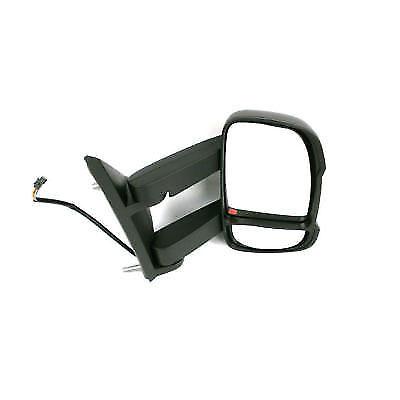 FIAT DUCATO LONG ARM DRIVER SIDE ELECTRIC HEATED WING DOOR MIRROR 2014-18 RHD