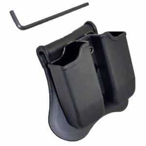 Tactical-Scorpion-Fits-Glock-19-17-22-23-26-34-35-Polymer-Double-Magazine-Pouch