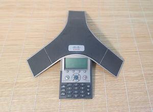 Cisco-IP-Conference-Station-CP-7937G-7937-VoIP-Phone-Telefon-mit-Gebrauchsspuren