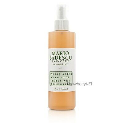 Facial Spray with Aloe, Herbs & Rosewater   All Skin Types
