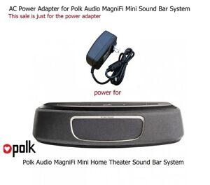 Details about AC Power Adapter Power Supply for Polk Audio MagniFi Mini  Sound Bar Soundbar