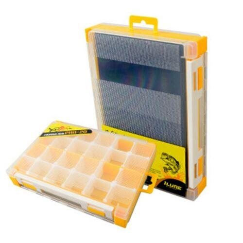 Fishing Baits Case Plastic Double-sided Fishing Box Lure Box Tackle Storage Box