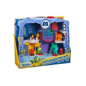 Fisher Price Imaginext Disney Pixar Monsters Inc Scare Floor Factory Playset