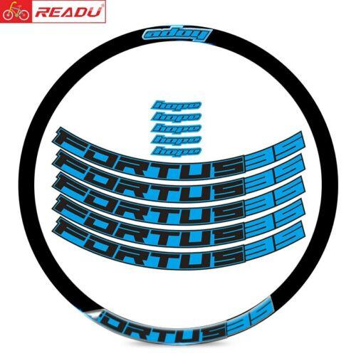 Details about  /For hope FORTUS35 Mountain Bike Wheel Rim Sticker MTB Enduro Decal 27.5 29ER