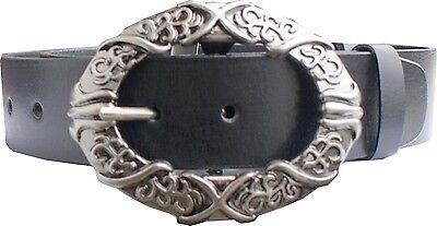 UnabhäNgig Vollrindleder Gürtel 3,4 Cm Breit,sehr Stabil 85-125cm. Ledergürtel