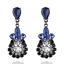1-Pair-Elegant-Women-Crystal-Rhinestone-Ear-Stud-Drop-Dangle-Fashion-Earrings thumbnail 9
