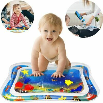 66x50cm ,6 sea toys in mat Best Tummy Time Water Play Mat for Kids n Baby,Large