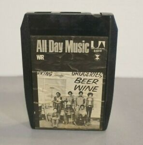 WAR-All-Day-Music-8-Track-Tape-United-Artist-Vintage