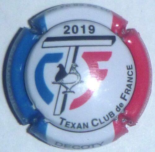 Capsule de Champagne :Extra ! DECOTY Texan Club de France 2019 n°48
