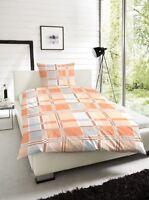 2teilige Bettwäsche Bettgarnitur Bettbezug 135x 200 cm und 155x 220 cm 123031028