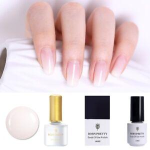 BORN-PRETTY-Opal-Jelly-Gel-White-Soak-Off-UV-Gel-Polish-Nail-Art-Pearl