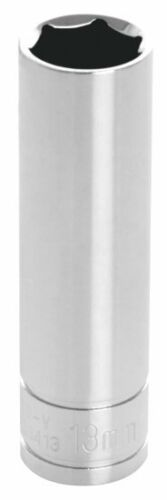 Wilmar W38413 Performance Tool  3/8 In. Drive Deep Well 13mm. 6 Point Socket