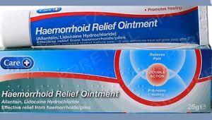 HAEMORRHOID-Hemorrhoid-Piles-RELIEF-OINTMENT-CREAM-25g-FREE-POSTAGE-BEST-PRICE