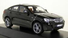 BMW X4 F26 Black Sapphire Metallic Diecast Model Car in 1:43 Herpa 80422348788