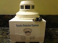 Side View Smoke Detector Camera St-150wc Free Shipping
