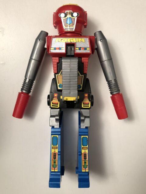 Vintage 1984 Bandai Gobots Rogun Robot Toy Cap Gun TRANSFORMER TYPE