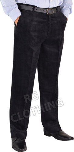 "Mens Big Size Smart Casual Cord//Corduroy Trousers//Pants Waist 32/""-62/"" Leg 29/""31/"""