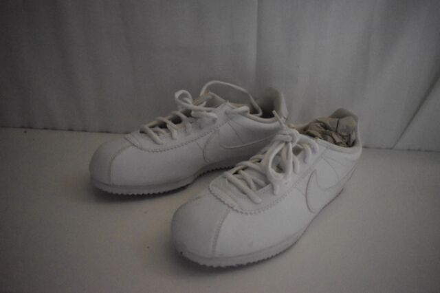 4c2e7fffa3d8 749502-100 NIKE CORTEZ GS classic white lifestyle youth size 7y shoes  sneakers