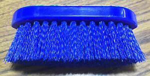 "New Dandy Brush Stiff Child's/Junior Size Grooming Small 5.5"" x 2"" Horse Tack"