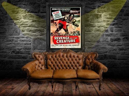 Revenge of the Creature 1955 Poster A0-A1-A2-A3-A4-A5-A6-MAXI C273