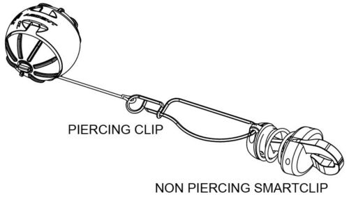 Ardent Smart Clips 6 Pack Non-Piercing for use with Culling System Conversion