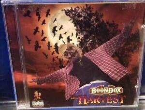Boondox-The-Harvest-CD-insane-clown-posse-twiztid-blaze-ya-dead-homie-icp-rare