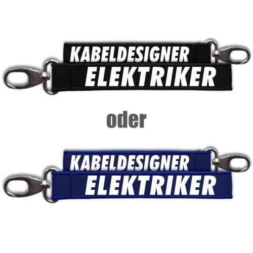 Neopren Schlüsselanhänger Schlüsselband Elektriker Geburtstag Geschenk Elektroni