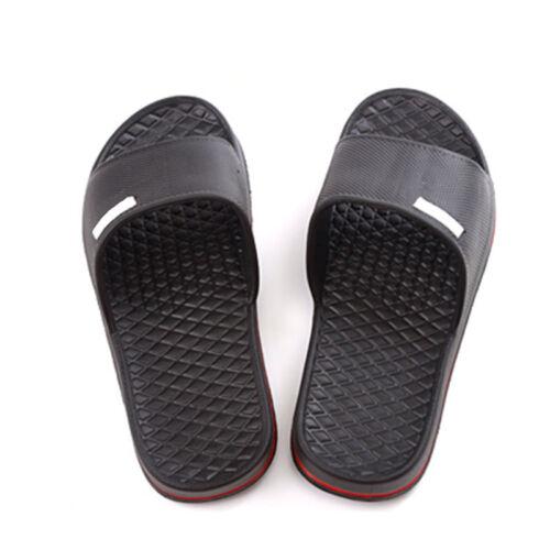 Men SlipOn Sport Slide Sandals Flip Flop Shower Shoes Slippers House Gym Po Z4Q1