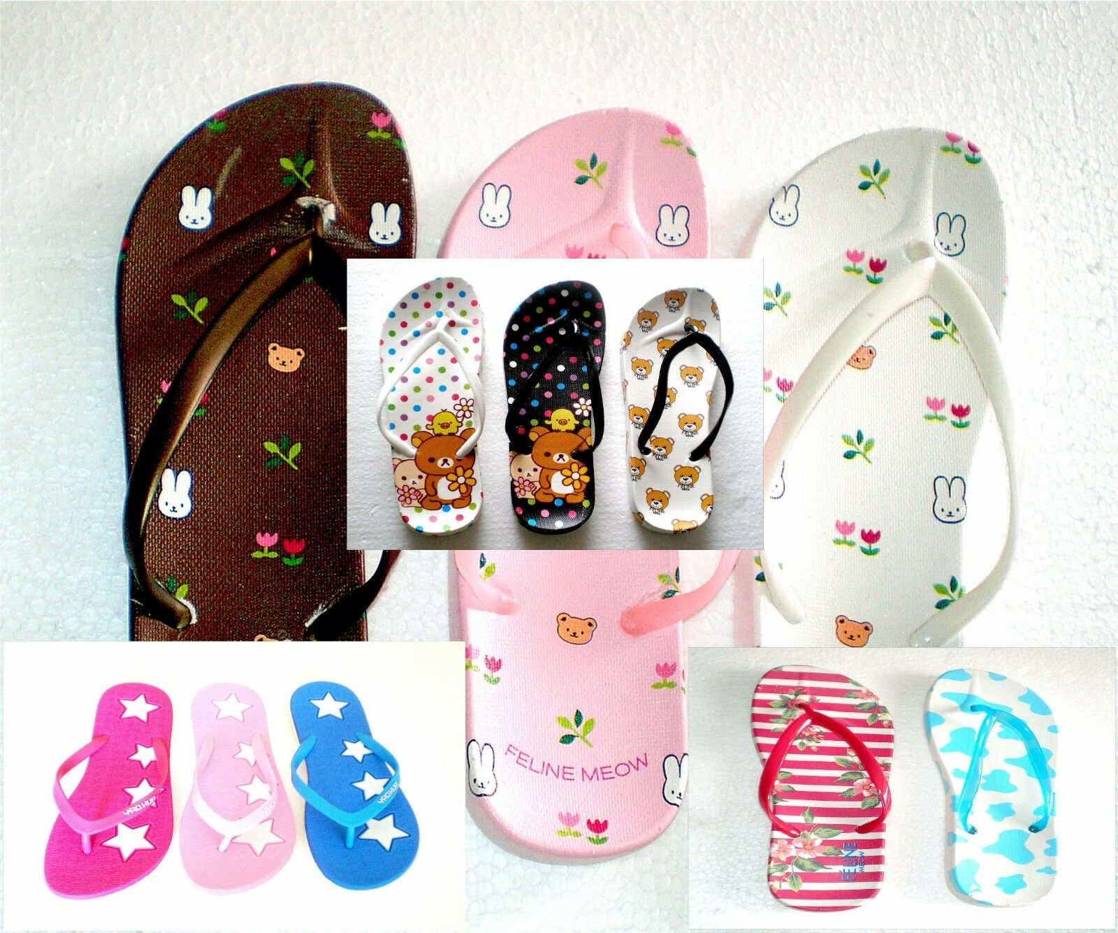 Wholesale 50 Pairs of Flip Flops shoes for for for Las Vegas Local Pick Up Only 17b2d4