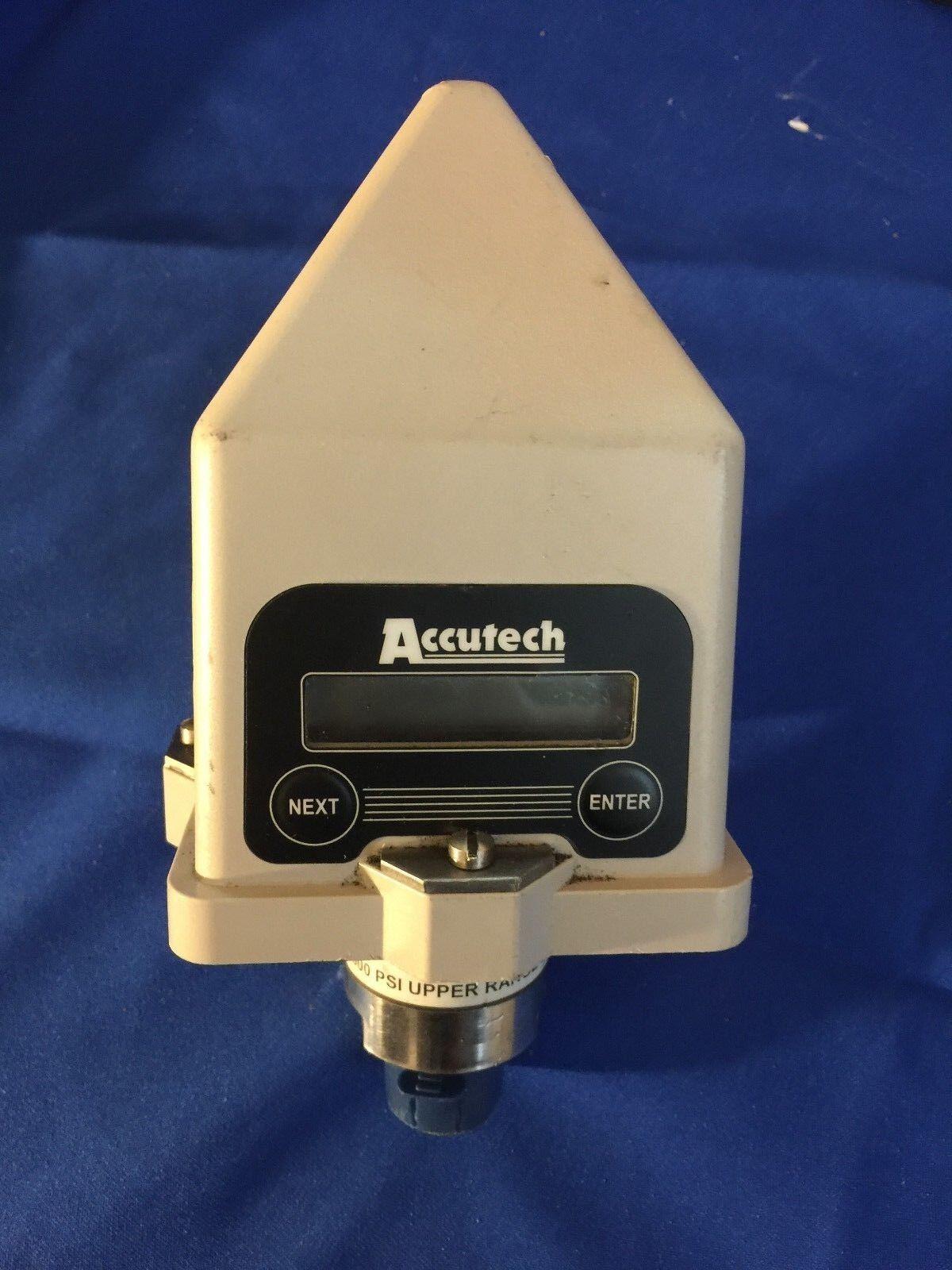 Accutech WI-GP-I-1000 1000 PSI Upper Range Limit