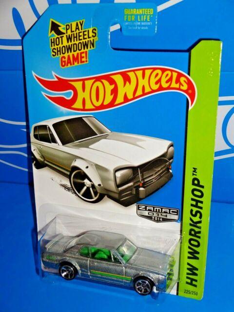 2014 Hot Wheels HW Workshop Black Nissan Skyline H//T 2000GT-X Mattel