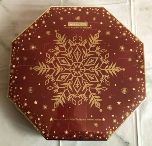 Canneberge Neuf-Noël cannelle Wickford /& Co ADVENT CALENDAR bougies Pain d/'épices