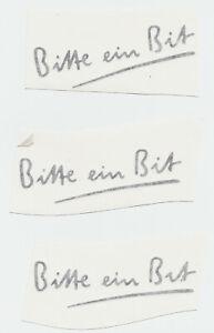3-BITBURGER-AUFKLEBER-ca-13-cm-in-schwarzer-Schrift-BITTE-EIN-BIT-3-Aufkleber-L2