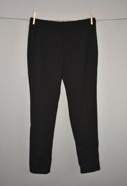 THEORY $275 Rowa Reedly Slim Straight Leg Wool Dress Pant Size 8