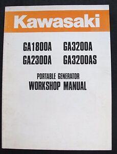 KAWASAKI-GA1800A-GA2300A-GA3200A-GA3200AS-GENERATOR-SERVICE-REPAIR-MANUAL