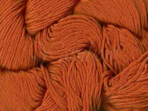 Mirasol 100/% Glossed Pima Cotton yarn Terracotta :Illaris #108: