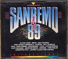 SANREMO 89 INTERNATIONAL  2 CD DEPECHE MODE SAMANTHA FOX RAY CHARLES ROACHFORD