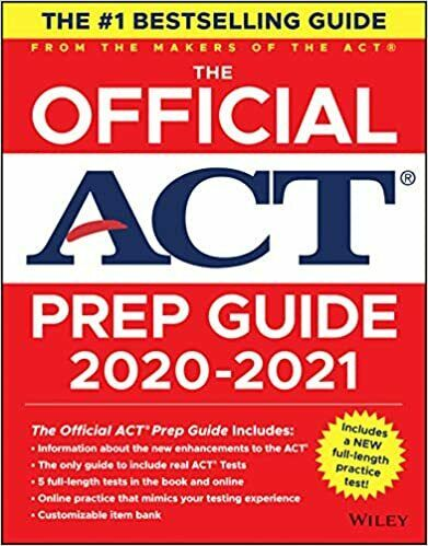 The Official ACT Prep Guide 2020 - 2021 by ACT (Digital,2020)