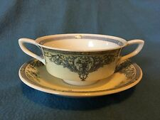"""Royal Worcester """"The Duchess"""" soup cup and saucer"""
