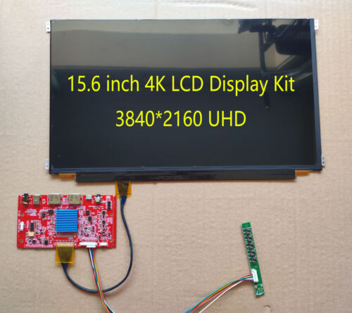 15.6 inch LQ156DM1JW04 3840*2160 4K UHD HDMI Display Kit  LCD With Driver Board