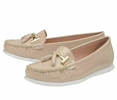 LADIES DOLCIS KIRSTEN NUDE SLIP-ON COMFY MEMORY FOAM SHOES LOAFERS PUMPS UK 3-8